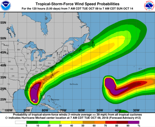 Hurricane Michael Orlando