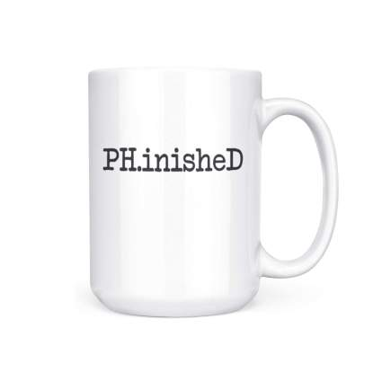 phinished mug