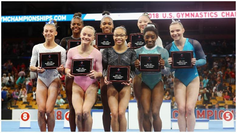 2018 U.S. Women's World Championships Gymnastics Team: Height, Age, Stats, US World's Gymnastics Championships Women's US Team Simone Biles