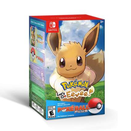 Pokemon- Let_s Go, Eevee + Poke Ball Plus Pack