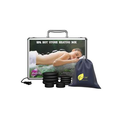 portable hot stone massage kit