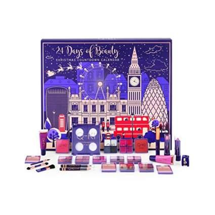 london themed beauty advent calendar