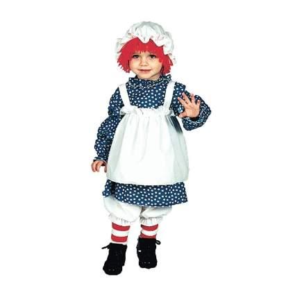 Raggedy Ann Costume Girls Toddler Size