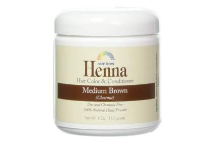 Jar of chestnut henna
