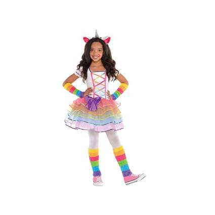 rainbow unicorn dress halloween costume