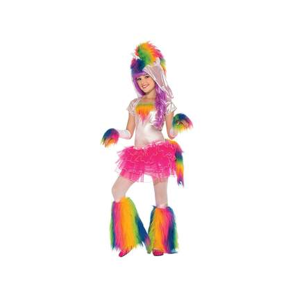 rainbow unicorn tutu costume with leg warmers