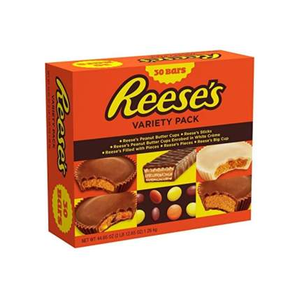 reeses variety pack best halloween candy