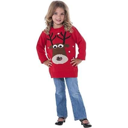 Rubies Red Reindeer Sweater