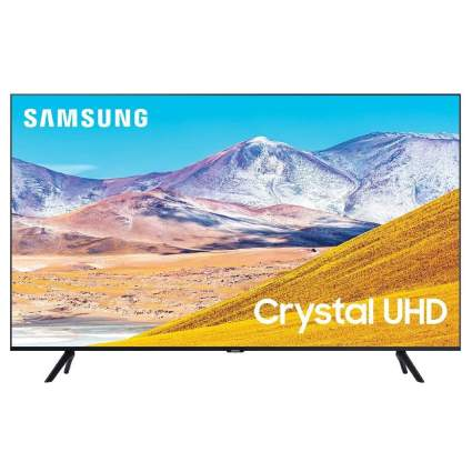 Samsung 55-Inch 4K UHD HDR Smart TV with Alexa