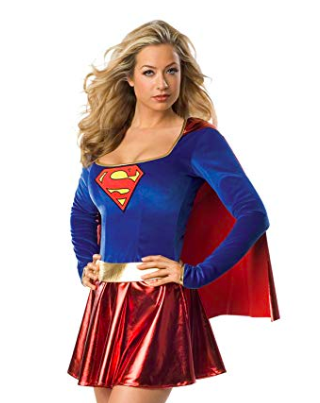 women's supergirl costume
