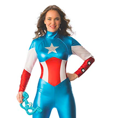 american flag catsuit