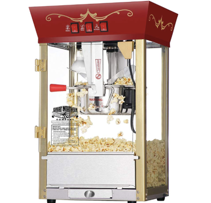 Antique Popcorn Machine
