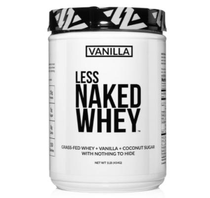 Less Naked Whey Vanilla Protein 1LB