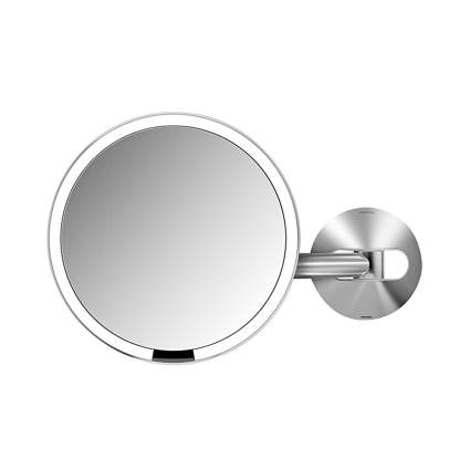 motion sensor lighted makeup mirror