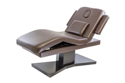 Brown electric spa table