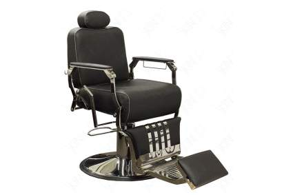 Black barber chair