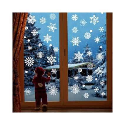 Snowflake Window Decals