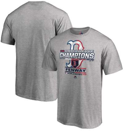 red sox american league champions shirts