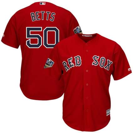 mookie betts red sox jersey