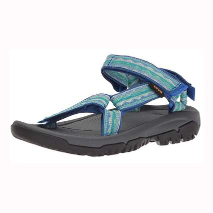 blue teva hiking sandals for women