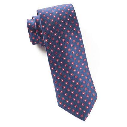 The Tie Bar Anemone tie