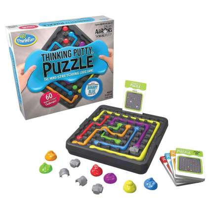 ThinkFun and Crazy Aaron's Thinking Putty Puzzle and STEM Toy