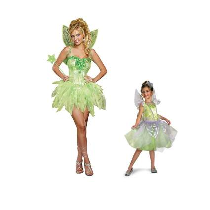 tinkerbell child and adult costume