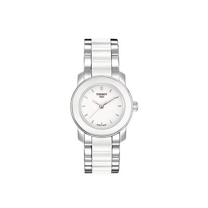 tissot women's ceramic watch