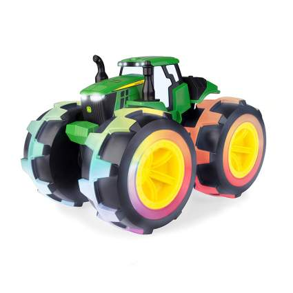 RC tractor with light up wheels