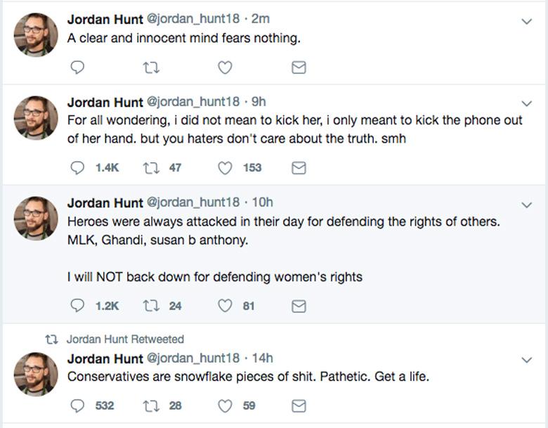 Jordan Hunt Twitter