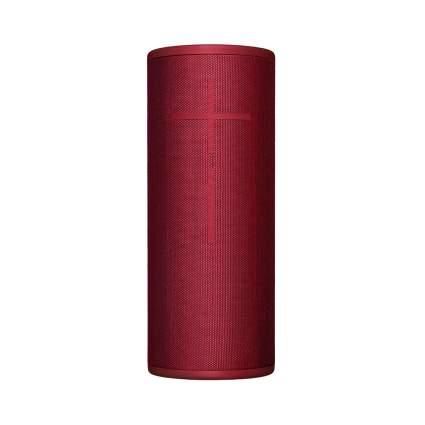 red bluetooth waterproof speaker