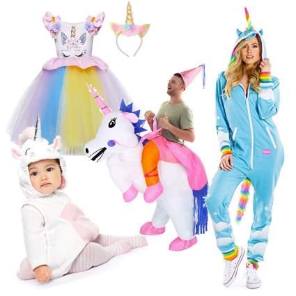 unicorn family costume