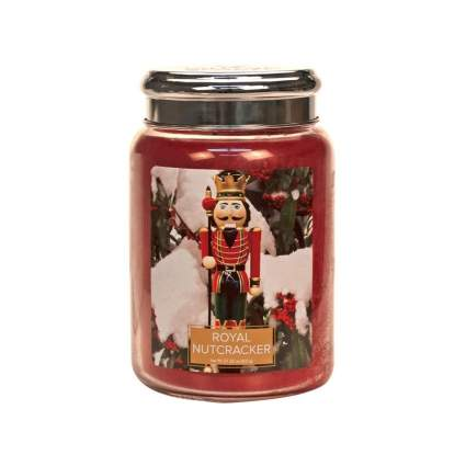 village candle royal nutcracker christmas candle