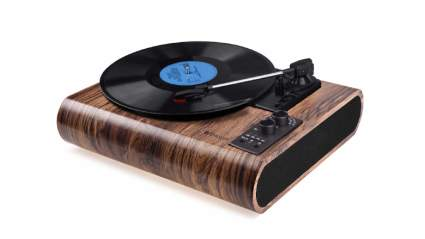 voksun record player with speakers