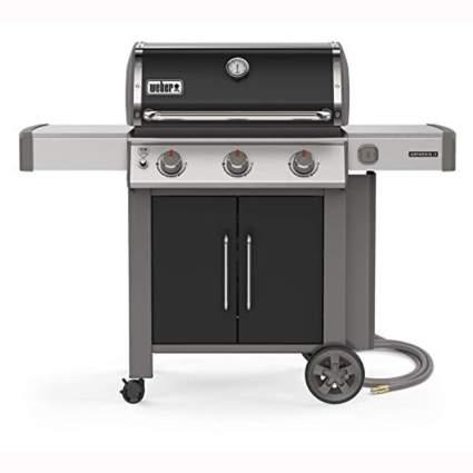 three burner propane grill