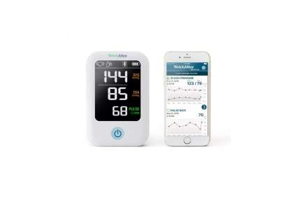 Welch Allyn Home 1700 Best Home Blood Pressure Monitor with SureBP Patented Technology and Simple Smartphone Connectivity