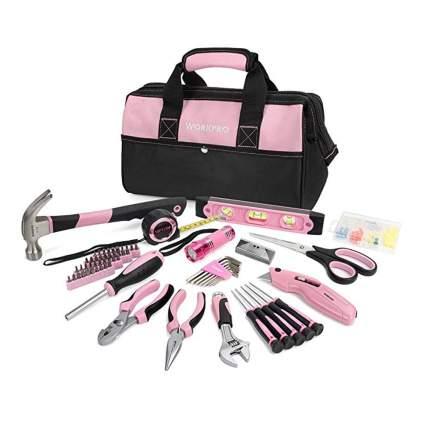 women's pink tool set