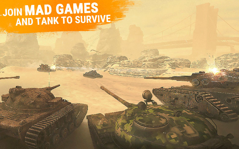 World of Tanks Blitz Mad Games