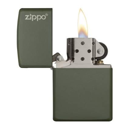 Green zippo lightere