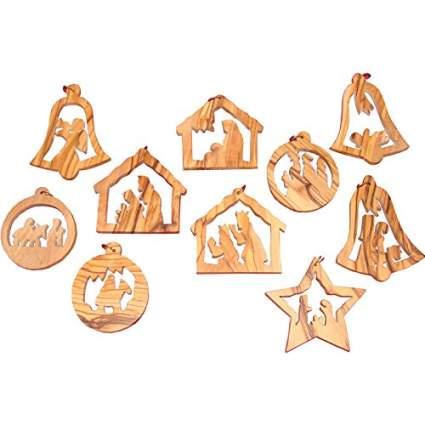 Zuluf wooden christmas ornament