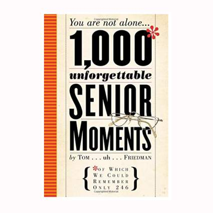 funny book about senior moments
