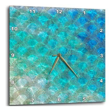 Square mermaid clock