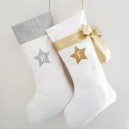 glitter stocking