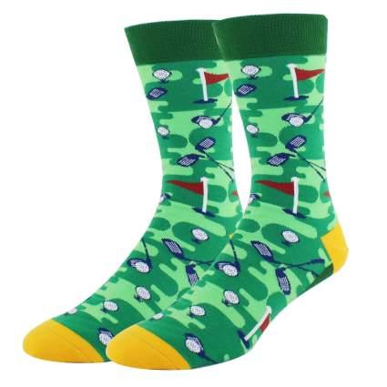 novelty golf socks