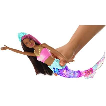 Light up mermaid Barbie doll