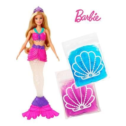 Slime Barbie mermaid doll
