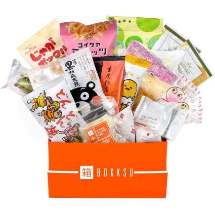 Subscription box of Japanese snacks