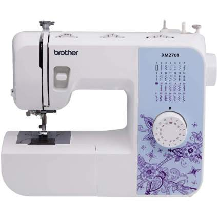 Small beginners sewing machine