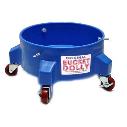 blue bucket dolly