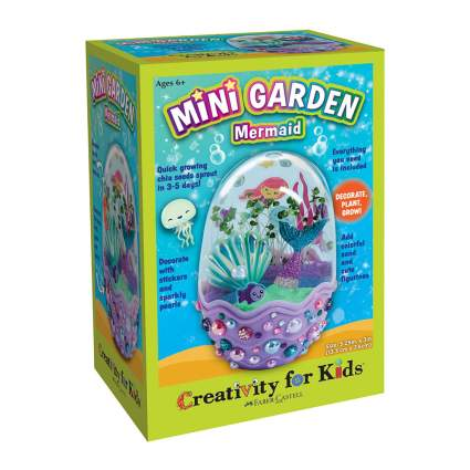 Mini mermaid garden kit toy